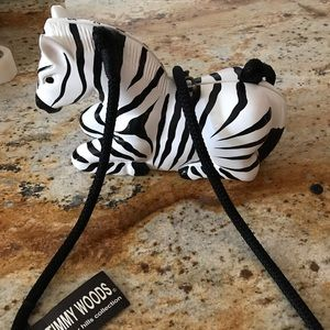 Vintage Timmy woods zebra bag.